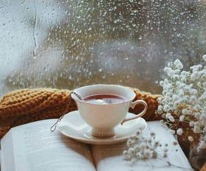 beauty, books, and tea image