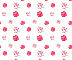 background, red, and flowers image