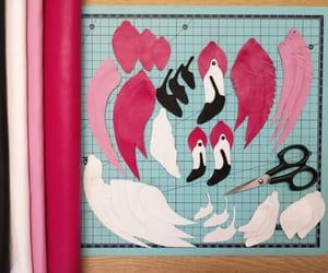 birds, handmade, and summer fashion image