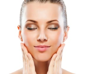 juvederm under eyes and chemical peel peeling image