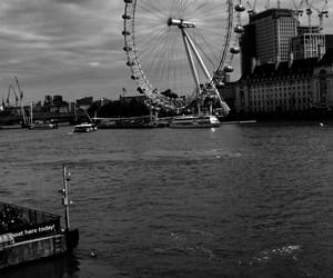 blackandwhite, london, and trip image