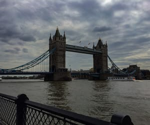 london, trip, and towerbridge image