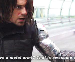 bucky, civil war, and Marvel image