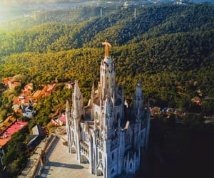 Barcelona, church, and place image