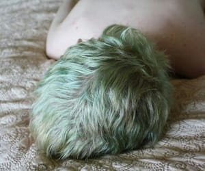 boy, hair, and green image