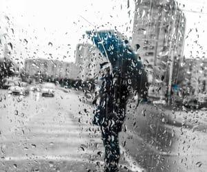 city, rainy, and rainy day image