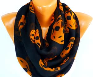 day of the dead, etsy, and summer scarf image