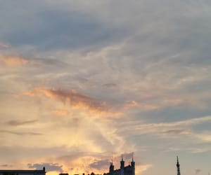 ciel, clouds, and colors image