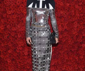 actress, Louis Vuitton, and red image