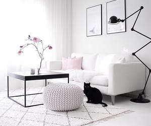 beauty, interior, and white image