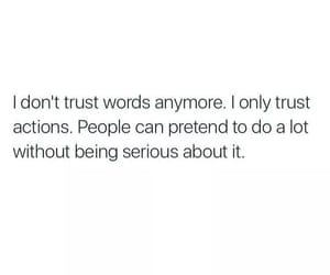 quotes, words, and trust image