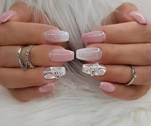 nails, accessories, and hands image