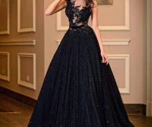 black, 15 anos, and vestidos de xv image