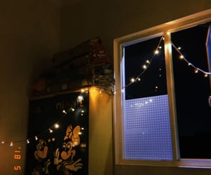 apartment, bedroom, and lights image