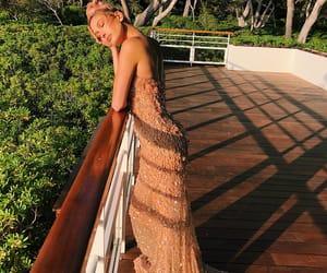 hailey baldwin, dress, and model image