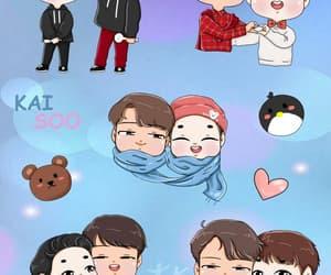 exo, kyungsoo, and fanart image