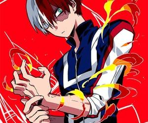 boku no hero academia and todoroki image