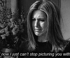 friends, sad, and Jennifer Aniston image