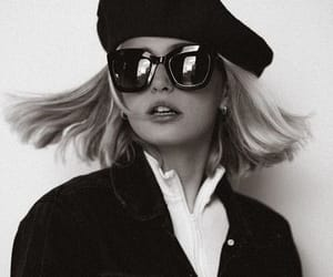 fashion, black and white, and chic image