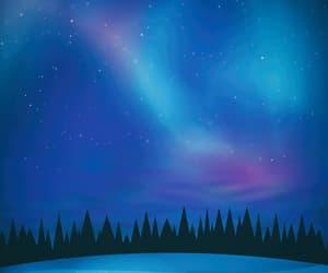 astronomy, aurora borealis, and beautiful image
