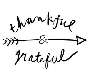 grateful, text, and simple image
