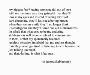 fear, quotes, and broken-hearted image