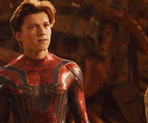 spiderman, tom holland, and Marvel image