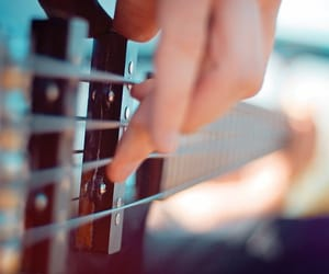 music, guitar, and bass image