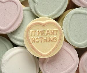 love, nothing, and candy image