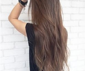 girl, goals, and long hair image