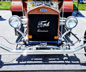 antique, automobile, and ford image