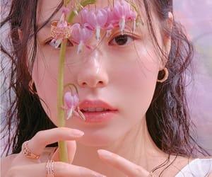 beach, korean girl, and korean style image