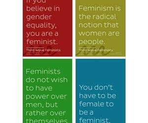 civil rights, feminism, and feminist image