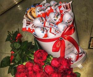 rose, kinder, and gift image