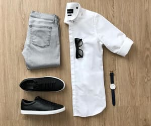 clothes, fashion, and guys image