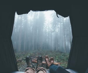 forest, nature, and camping image