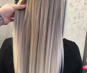 blond, cheveux, and hairs image