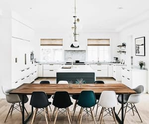 home, white, and kitchen image