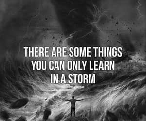 lesson, quotes, and storm image