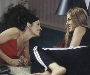 friends, Jennifer Aniston, and Courteney Cox image