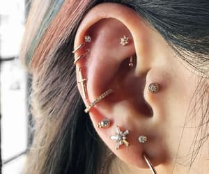 piercing and pretty image