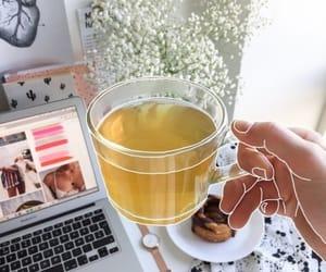 health, tea, and macbook image