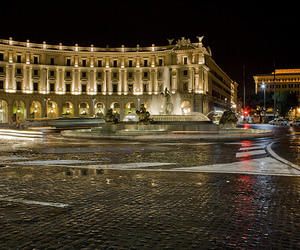 lights, roma, and luci image