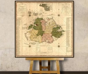 etsy, vintage map, and antique map image