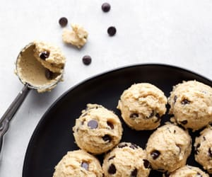 cookie, yummy, and cookie dough image