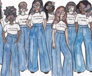 aesthetic, female, and feminism image