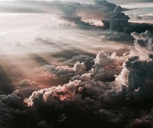 aesthetic, clouds, and photography image