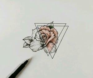 rosa, art, and rose image