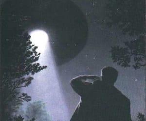 cielo, Ovni, and stars image