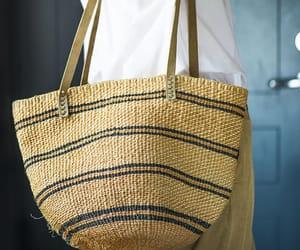 woven straw bag, african bag sisal, and market bag sisal image